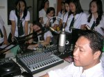 test mic... @ DyAR in USJR