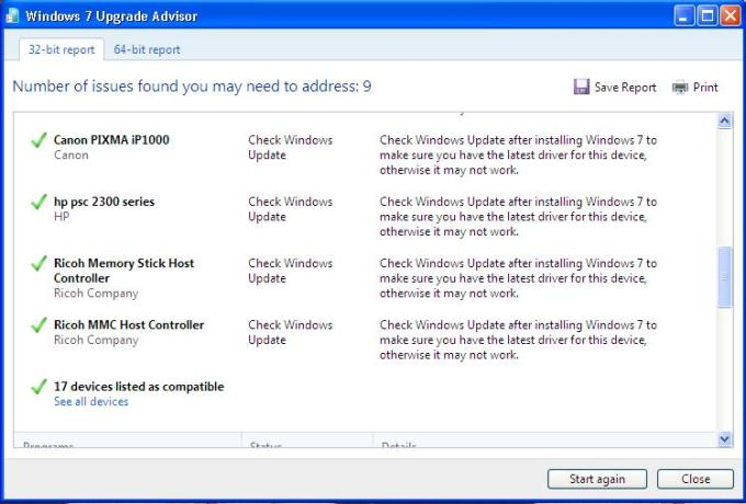 windows 7 upgrade advisor screen-3