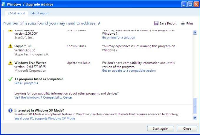 windows 7 upgrade advisor screen-5