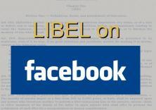 Facebook libel