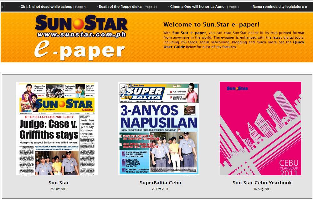REVIEW: E-Reading Sunstar Daily(Cebu) Digital Edition | jun