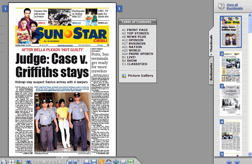 REVIEW: E-Reading Sunstar Daily(Cebu) Digital Edition | jun tariman