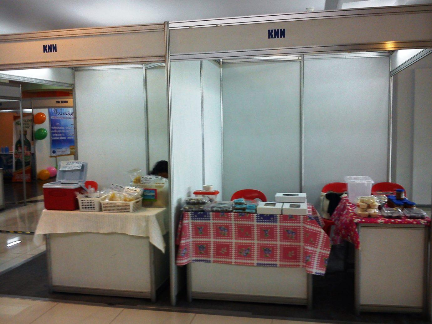 KNN booth