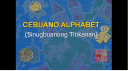 Cebuano alphabet cover